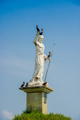 statue in livingston guatemala