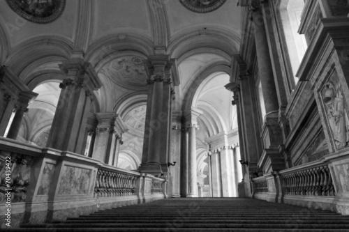 Zdjęcia na płótnie, fototapety, obrazy : Caserta Royal Palace, honour Grand Staircase