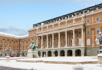 Royal palace of Buadapest, Hungary