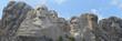 Leinwandbild Motiv Panoramic Mount Rushmore