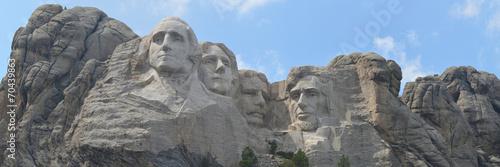 Fotobehang Historisch mon. Panoramic Mount Rushmore