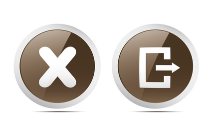 Exit icons