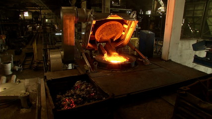 iron, steel smelting