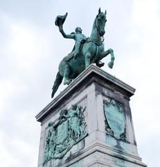 Reiterstatue Wilhem Luxemburg