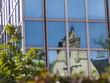 Leinwandbild Motiv Fassadenspiegelungen