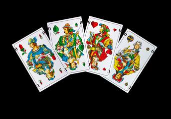 Der Traum aller Schaftkopf - Kartenspieler