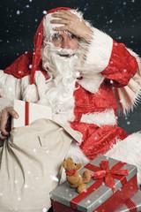 Weihnachtsmann hat etwas vergessen