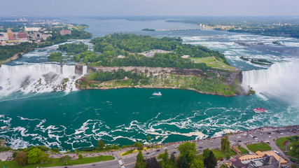 Niagara Falls view from Skylon Tower