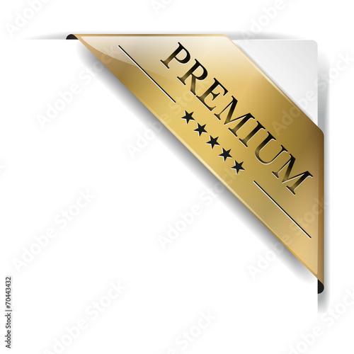 Banderole Premium Gold - 70443432