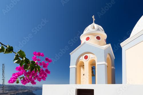 Leinwanddruck Bild Chapel of Fira