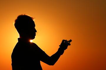 Güneş ve adam