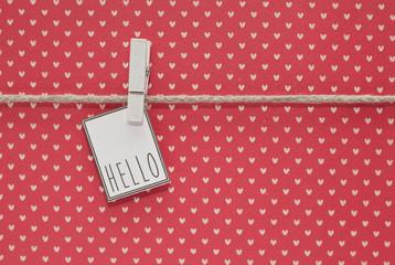Tag Hello