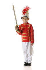 Christmas Soldier with Sword