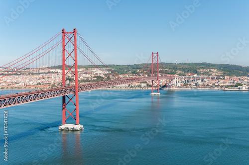 Papiers peints Pont Suspension Bridge in Lisbon