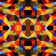Background of kaleidoscope pattern