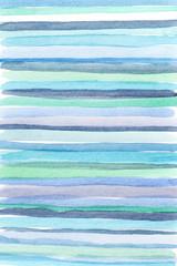 random blue watercolor lines