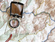 Navigating with map and compass, essential backcountry skills - 70449068