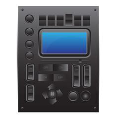 Vector user interface: media player