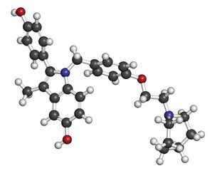 Bazedoxifene postmenopausal osteoporosis prevention drug