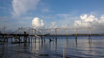 Old wood piers