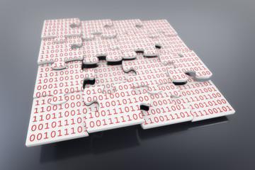 Puzzle Binär
