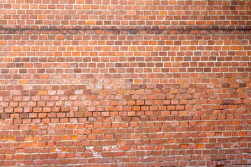 Background in the form of old brickwork
