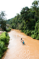 Rafting in Thailand