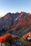 Slovakia mountain autumn landscape
