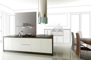 Loft-Kitchen (project)