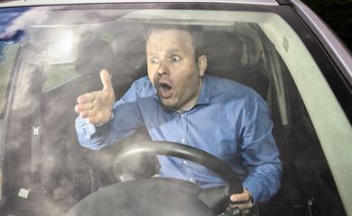 Angri driver