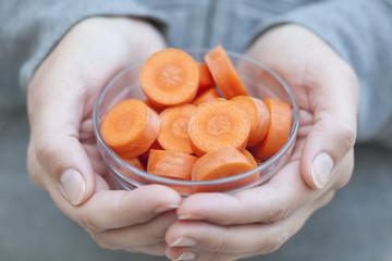 Slice of carrot