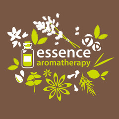 Aromatherapy, flowers and plants