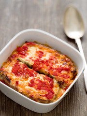 italian baked aubergine