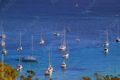 Leinwanddruck Bild Île de Porquerolles.