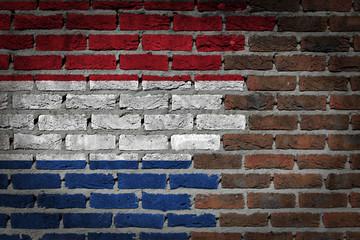 Dark brick wall - Netherlands