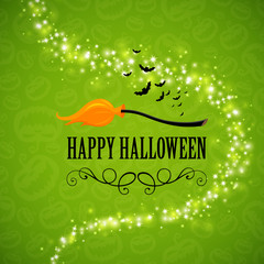 Vector Illustration of an Abstract Halloween Design