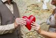 Rotes Herz: Symbol für Partnersuche, Singles, Valentinstag