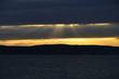 canvas print picture - Abendstimmung am Bodensee