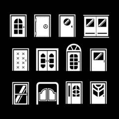 Set icons of doors