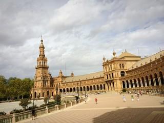 Sevilla Plaza de España Nordturm