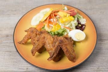 fried chicken series