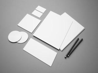 Set of branding elements