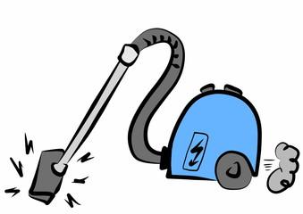 Doodle vacuum cleaner