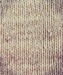 knitted background (vintage style)