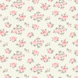 Seamless floral pattern with little roses - 70462883