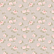Seamless floral pattern with little roses - 70462890
