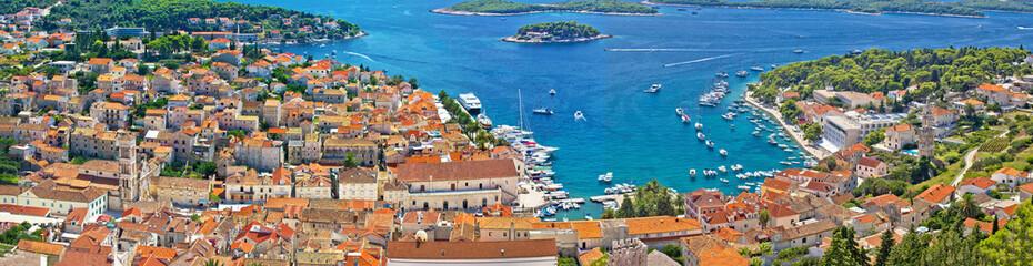 Croatian tourist destination of Hvar
