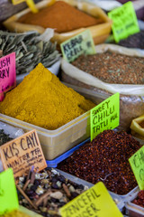 Spices on the market