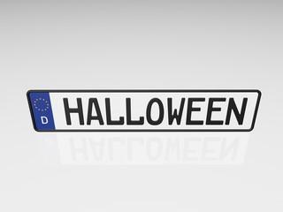 Kennzeichen - Halloween