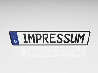 Kennzeichen - Impressum
